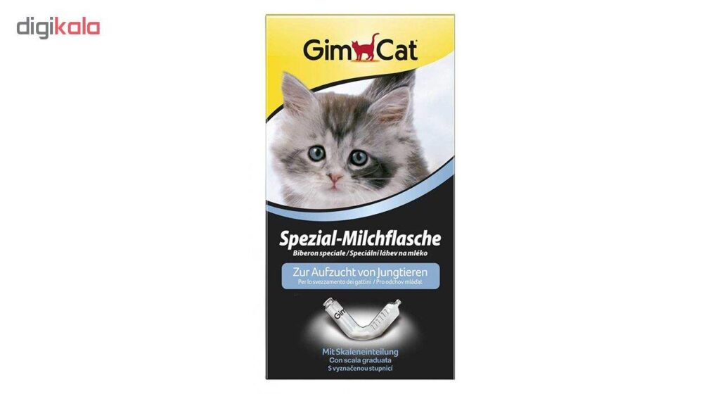 شیشه شیر بچه گربه