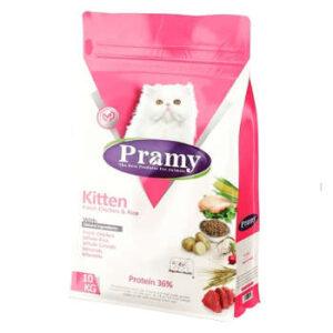 غذای خشک گربه پرامی