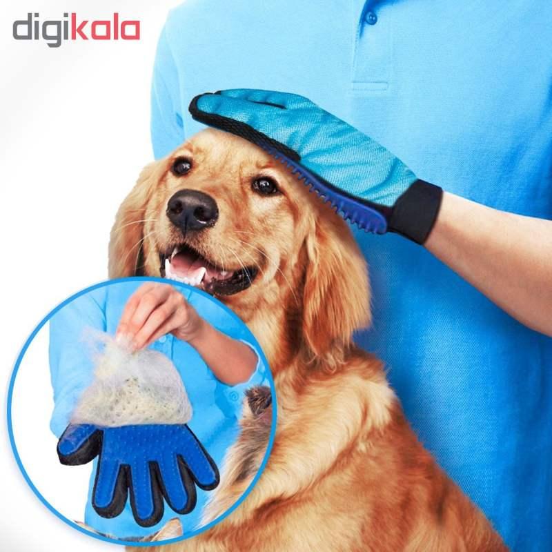 دستکش ماساژ سگ