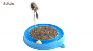 اسکرچر و اسباب بازی گربه