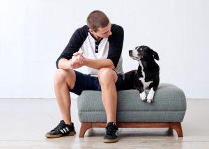سگ و صاحبش