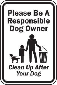 جمع کردن مدفوع سگم از روی زمین