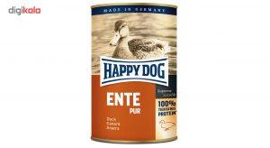 کنسرو سگ هپی داگ مدل گوشت خالص اردک