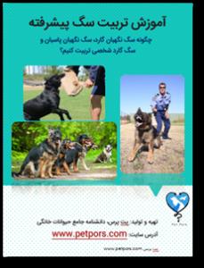 کتاب تربیت سگ نگهبان پاسبان و گارد