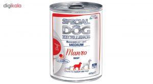 غذای کنسرو مناسب برای سگ اشپیتز (گونهی متوسط)