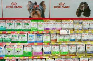 محصولات غذای سگ رویال کنین