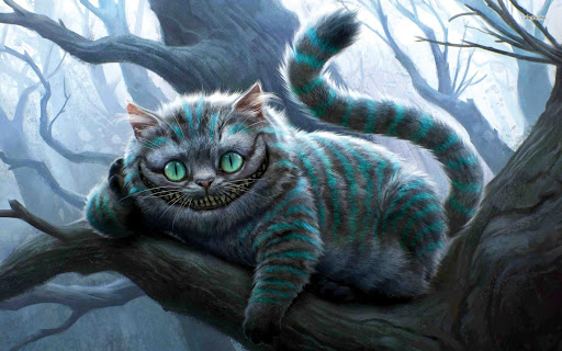 گربه آلیس در سرزمین عجایب