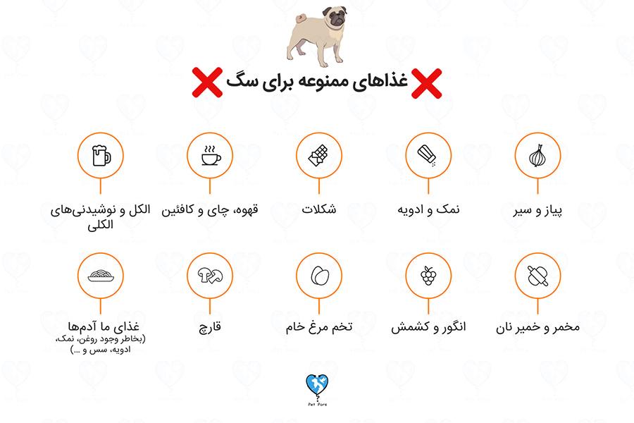 غذاهایی که نباید به سگ بدیم