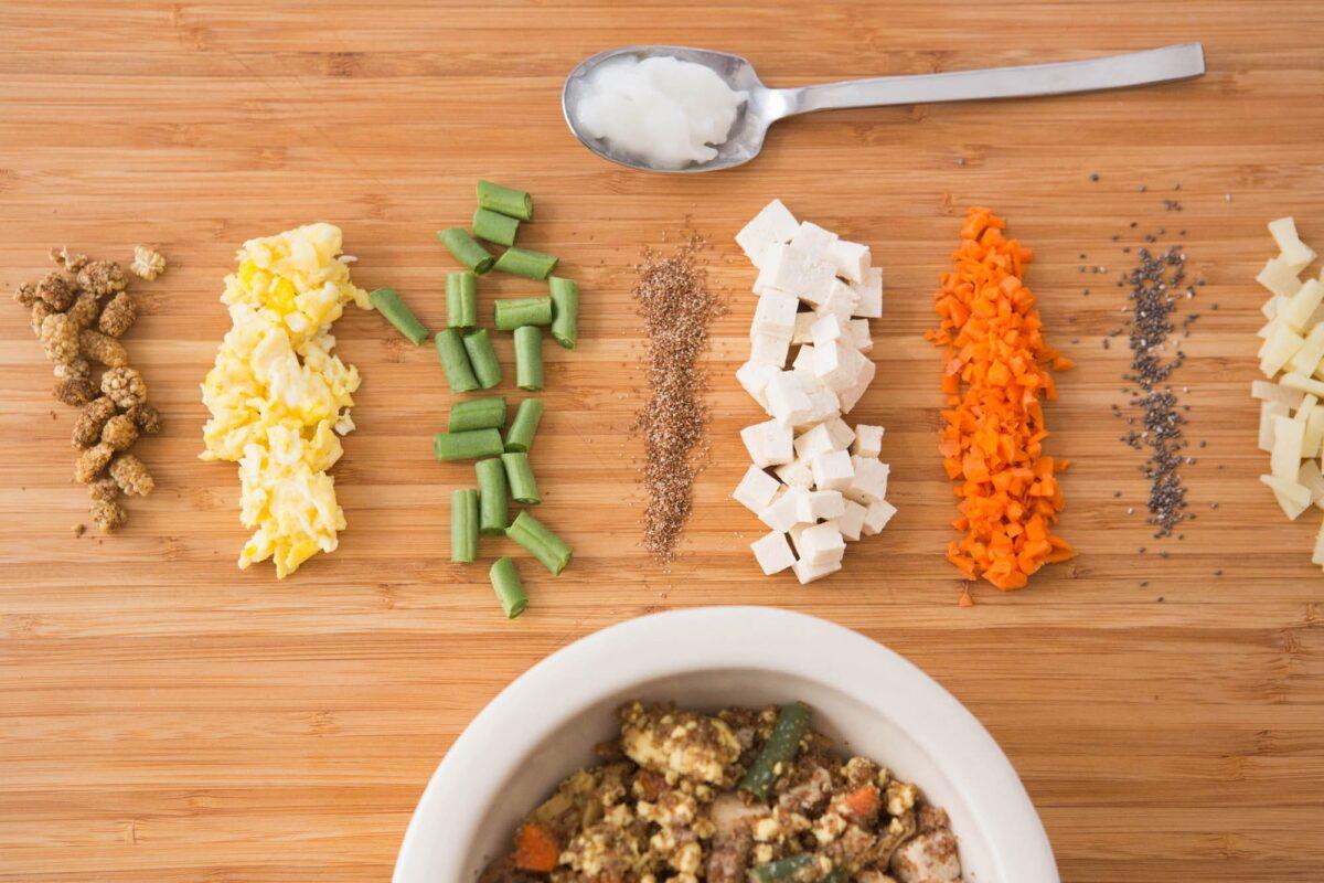 ترکیبات غذای خانگی برای شیتزو