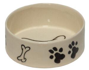 ظرف غذای سگ سرامیکی
