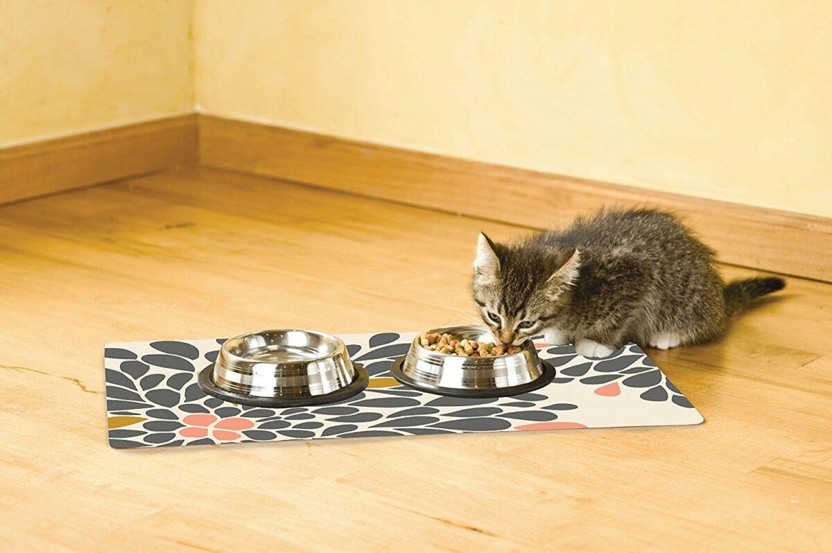 پد زیربشقابی ظرف غذای گربه
