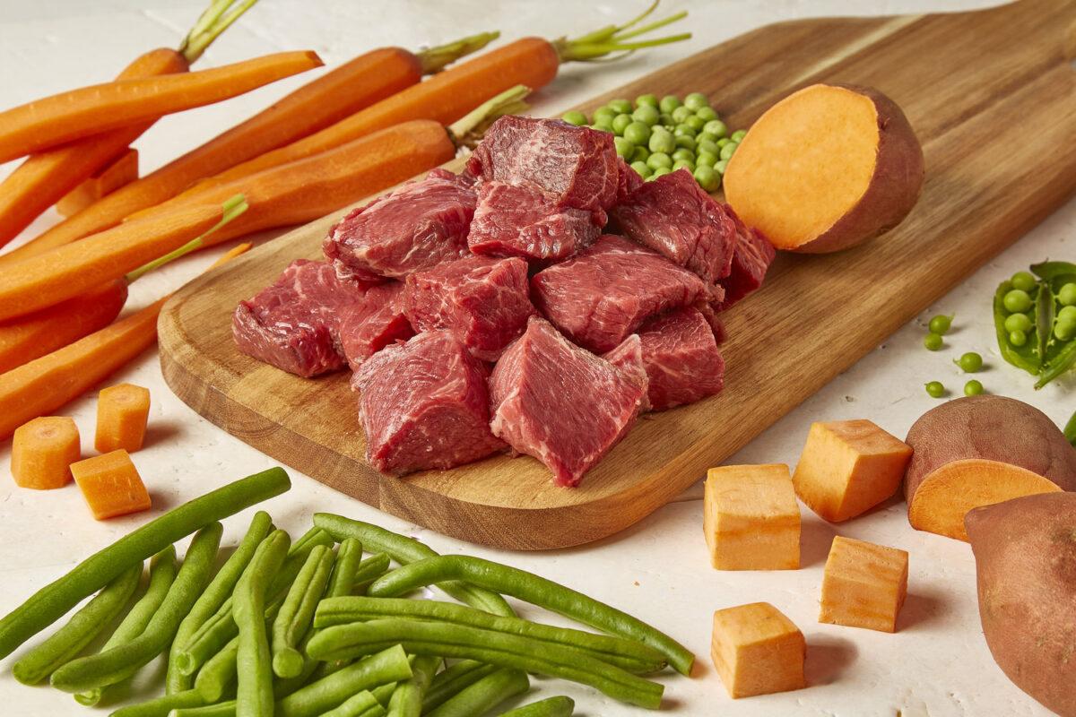 انواع گوشت برای سگ
