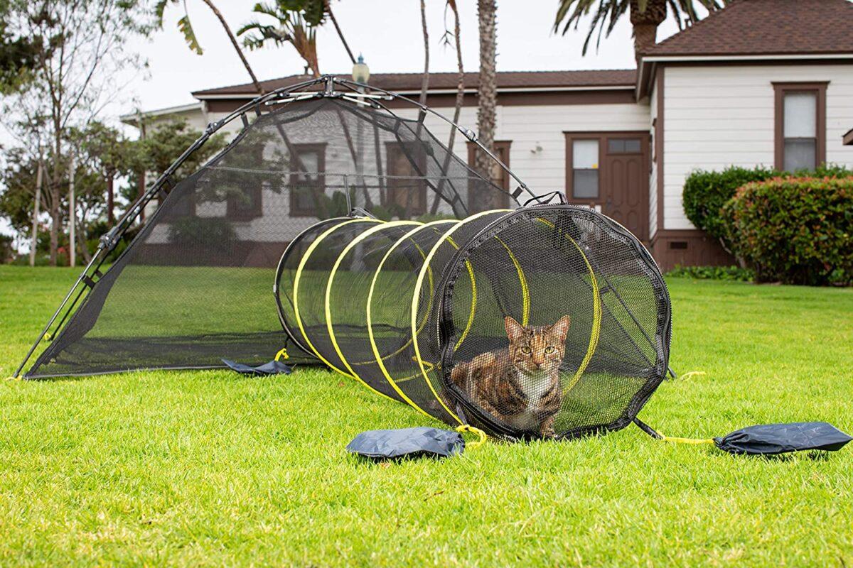 تونل گربه برای فضای باز